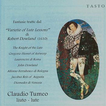 Claudio Tumeo: THE KNIGHT OF THE LUTE (CD)