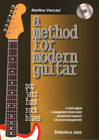Martino Vercesi: A Method for Modern Guitar + CD