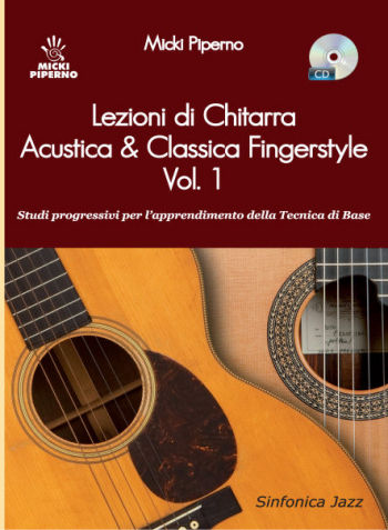 Micki Piperno: ACOUSTIC GUITAR LESSONS and CLASSIC FINGERSTYLE - 1st V.