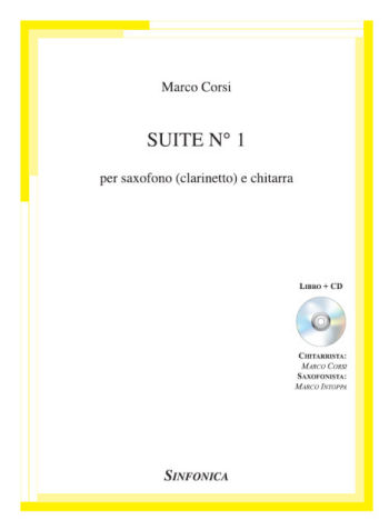 Marco Corsi<!--Marco Intoppa-->: SUITE n.1 - Libro + CD