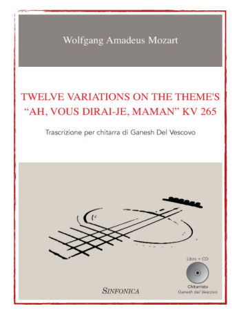 "Wolfgang Amadeus Mozart: TWELVE VARIATIONS ON THE THEME'S <br> ""AH, VOUS DIRAI-JE, MAMAN"" KV 265"