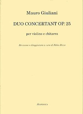 Mauro Giuliani (1781-1829): DUO CONCERTANT OP. 25